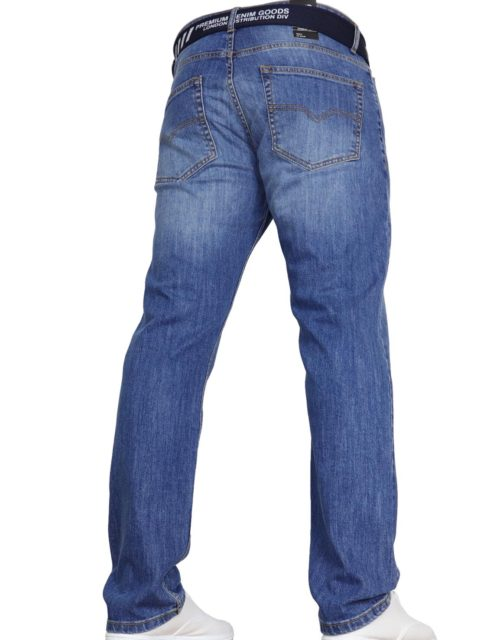Void Edwood Mid-Wash Jeans by Jeanbase